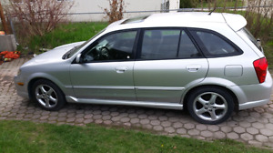 2002 mazda protege 5 only 180 kms!!!