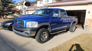 "2007 Dodge SLT 1500 Quad Cab 4x4 ""Excellent Condition"" NO RUST"