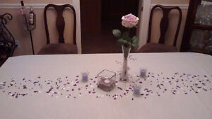 Wedding reception tables decor