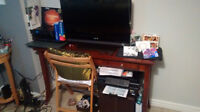 Free sony tv, desk, fax/copier, chair, cd's, more!!!