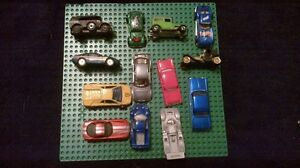 13 toy cars vintage