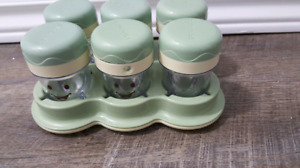 BABY BULLET FOOD CONTAINERS
