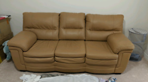 Leather Couch - proce drop