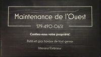 Maintenance de l'Ouest