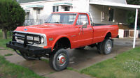 ONE OF A KIND 1969 CHEV 1 TON DUALLY 4X4