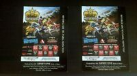 2 WEEKEND PASSES ROCKSTAR MOTOCROSS NATIONALS