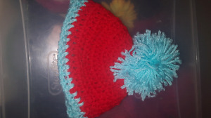 Adorable thing 1 hat $5