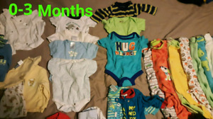 Huge boy/ gender neutral baby clothes lot