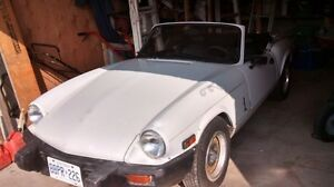 Triumph spitfire with overdrive