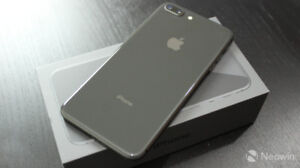 APPLE IPHONE 8 PLUS 64GB SPACE GREY APPLE CARE + 2020 BOXED $749