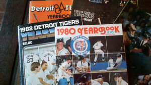 Detroit Tigers' Yearbooks
