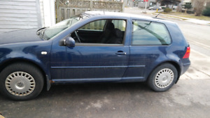 2002 golf 2 door , 162,850 kms