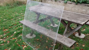 16 Plexiglass sheets 4'x4' by 1/2 inch thick
