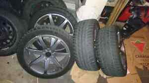 """17"""" inch tires and rims"""