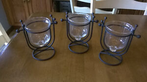 $10.00 for 3 Candle Holders