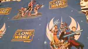 Star Wars double comforter and double sheets. London Ontario image 5