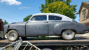 1950 Pontiac silverstreak streamline torpedoback project