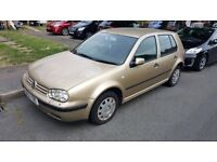 2001 Vw golf 5dr for sale