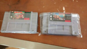 SNES - Donkey Kong Country 1 et 3
