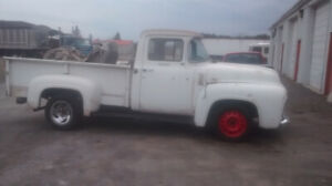 56 ford pickup,, Read Whole Ad.