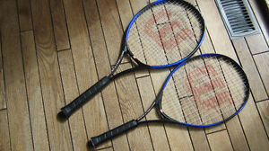 2 Tennis Rackets - Price Reduced