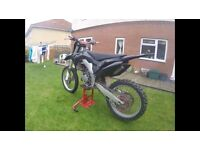 Cr125 2003 with 2016 conversion kit, recently full engine rebuild with all paperwork