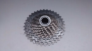Shimano XT 10 Speed Cassette - used on 3 rides