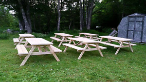 8' Spruce picnic table