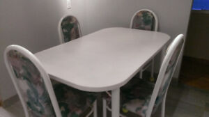 Gently Used Table and 4 Chairs