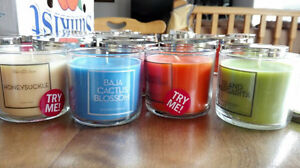 assorted variety of brand new scented candles Cambridge Kitchener Area image 1