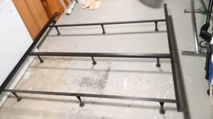 King Size Bedframe- Steel