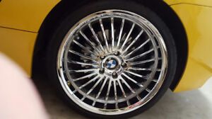 Beyern Multi / Chrome Finish rims for sale (4) Reduced to sell