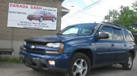 05 Chevy Trail-Blazer, 6M.WRTY+SAFEY $5495,LEASE TO OWN AVAILABL