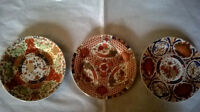 3 Decorative Plates/ $10. Each or 3 for $20.
