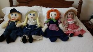 Dolls - just in time for Christmas!