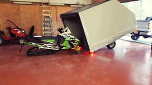 Enclosed Snowmobile Trailer