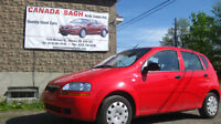 2008 SUZUKI SWIFT 5SP/AC,LOW MILEAGE only 46k , 6 M WRTY, $5995