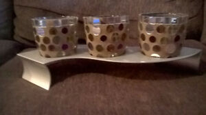 Party Lite stunning Candle holders. Great Christmas gift Kitchener / Waterloo Kitchener Area image 1