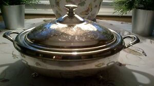 Silver Covered Dish FOR SALE