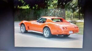 1975 corvette  professionally rebuilt
