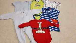 Baby boys clothing 3/6 and a few 9 months