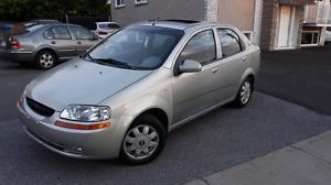 Chevrolet Aveo 2005 97000km Automatique