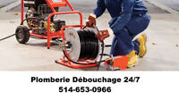 24/7 Plombier - Débouchage - Drain Unblocking & cleaning