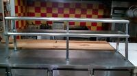 "Stainless Steel Kitchen Pass/Rack Shelves 48"" Table best offer"