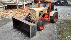 case 155 garden tractor and loader