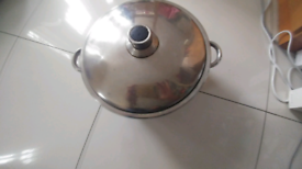 Stainless steel big sauce pan
