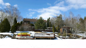 Private Waterfront House on Clearwater Lake