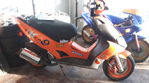 Scooter kymco  super9s