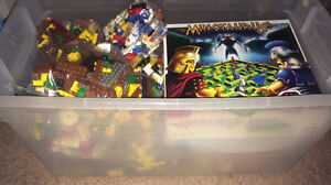 Loose Lego (15lbs+) & mini figures toys