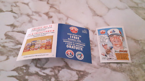 Montreal expos.nabisco.promo card no 33..steve rodgers.pitcher.